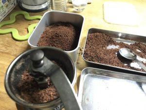 Le cacao broyé