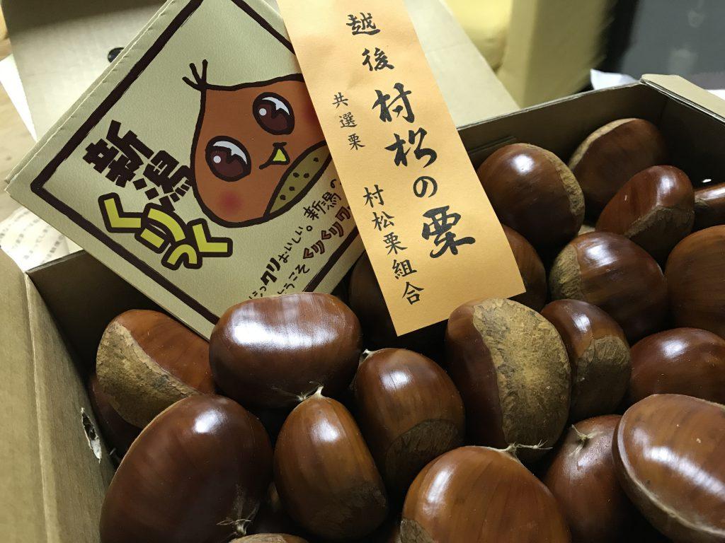 Châtaignes au Japon